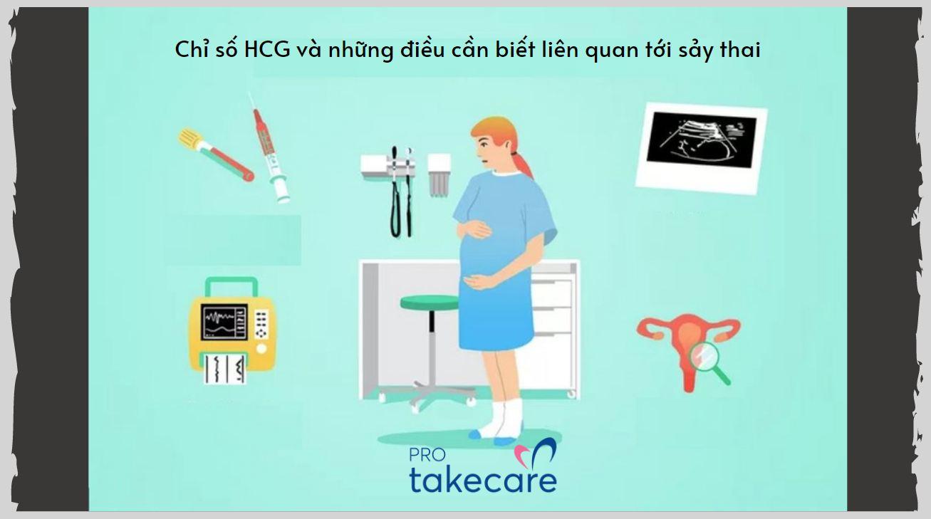 Chỉ số HCG và những điều cần biết liên quan tới sảy thai